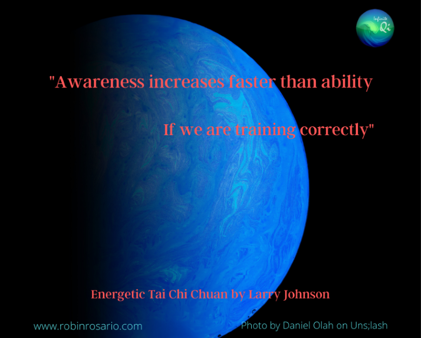 Awareness Increases Faster Than Ability